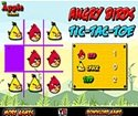 angry birds tic tac toe