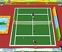 two player tennis game